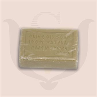 Picture of Olive Oil Soap Cinnamon 100gr. Wrapped in Cellophane